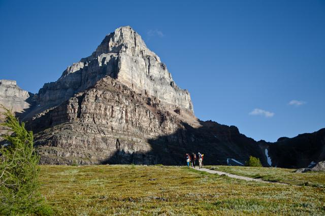 Mount Temple Scramble   Canadian Rockies Hiking Tour