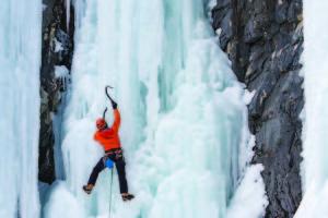 multi pitch ice climbing course