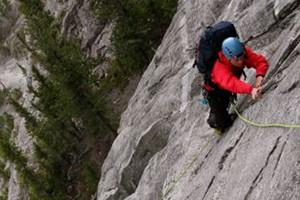 canmore rock climbing course