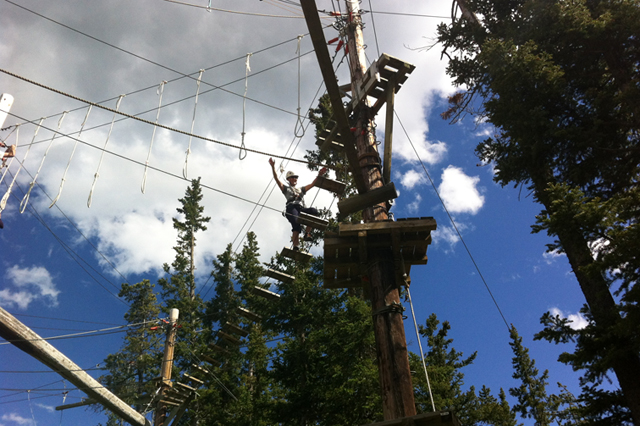 Ropes Challenge Course | Zipline Adventure Course in Canada