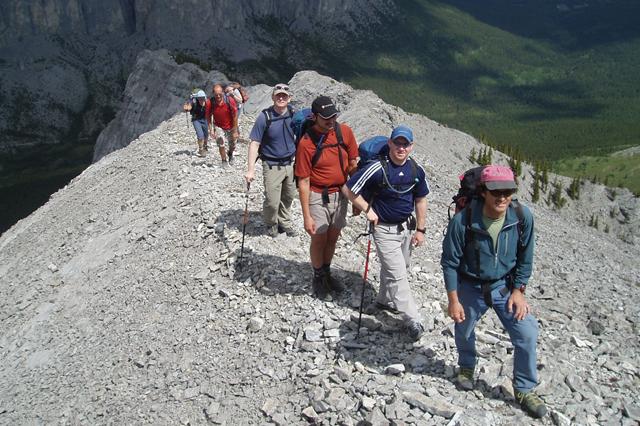 Scrambling Hiking Course In Alberta