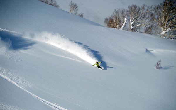 Rishiri Island Skiing